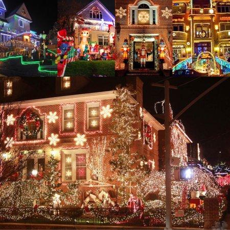 Fairview, Нью-Джерси: Tour Nocturno y Luces de Navidad en Dyker Heights $45 dólares