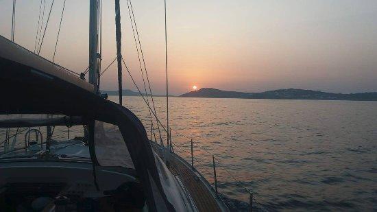 Tourlos, Greece: The best view !