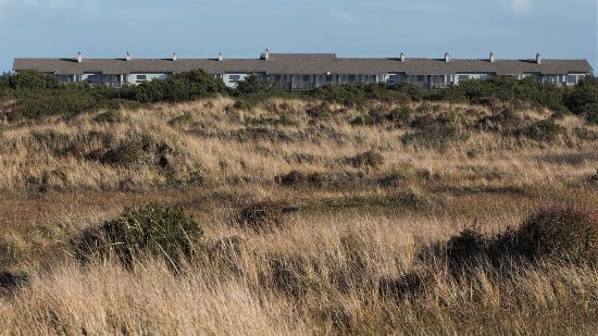 The Canterbury Inn From The Dunes Behind The Property