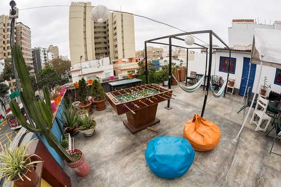 Dragonfly Hostels: Rooftop