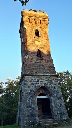 Poehl, เยอรมนี: Aussichtsturm mit Stufen zu erklimmen - aber eine lohnende Aussicht