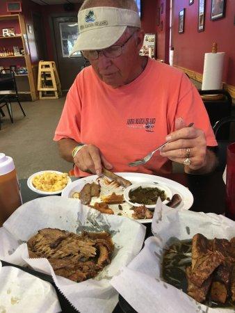 Λέικ Πλάσιντ, Φλόριντα: Table full of  good food for $25!