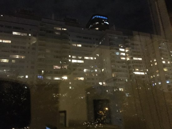 Gardens NYC–an Affinia hotel: View from 4th floor looking North