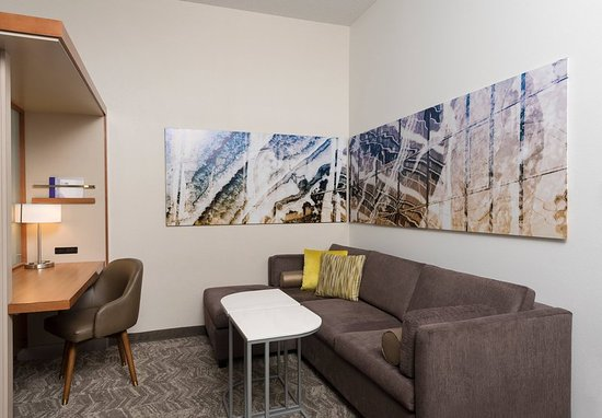 Orion, MI: Queen/Queen Studio Suite - Living Area