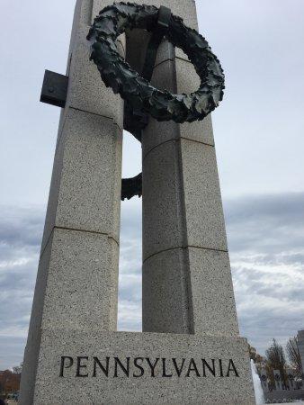 National World War II Memorial: Pa tribute