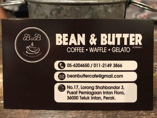 Teluk Intan, Malaysia: Bean & Butter