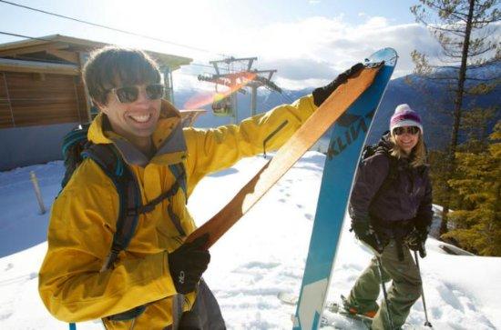 Ski oder Snowboard Set