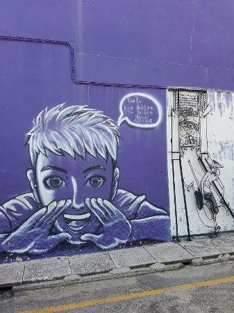 Street Art in George Town: Kah Lu Kong Hokkien