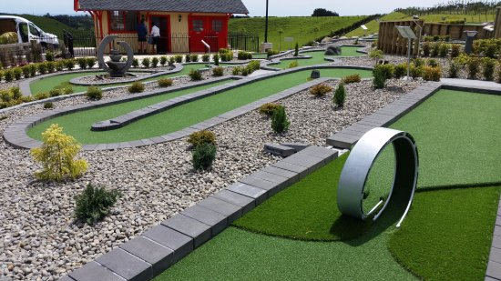 Нью-Плимут, Новая Зеландия: Hillsborough Mount Panorama mini putt