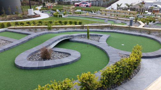 New Plymouth, Nueva Zelanda: Hillsborough Mount Panorama mini putt