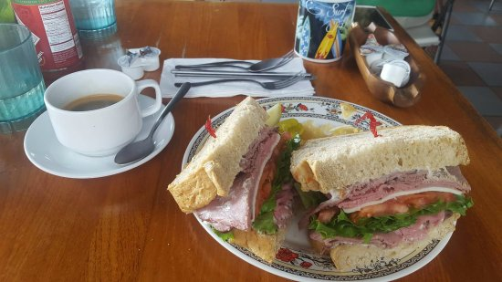 The Coffee Shack: a little sandwitch