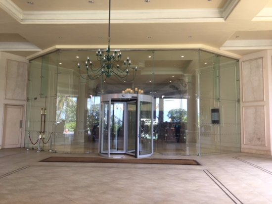 Taj Samudra Colombo: The Entrance