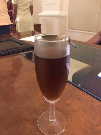 Taj Samudra Colombo: Welcome drink