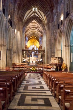 Worcester, UK: Inside Cathedral