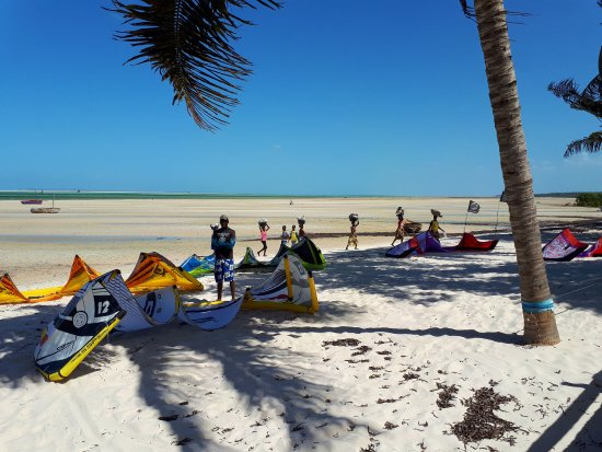 Vilanculos, Mozambique: VilanCool, Blick von der Terasse