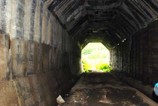 Kholmsk, Russia: Внутри тоннеля