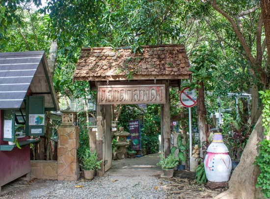 Nakhon Ratchasima Province, Tailandia: บริเวณทางเข้า