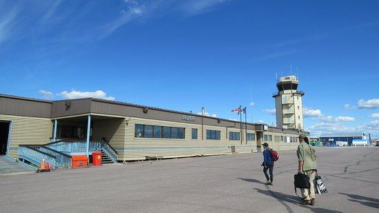Inuvik Airport.