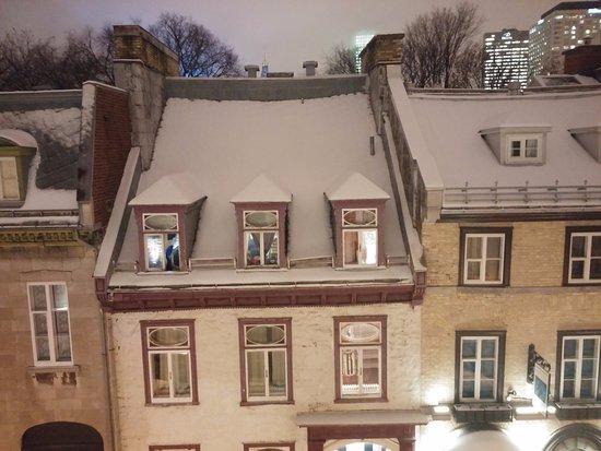 Hotel Acadia : Vue du 5e étage