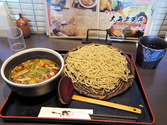 Tsuchiura, Ιαπωνία: 茸たっぷり肉汁せいろ蕎麦