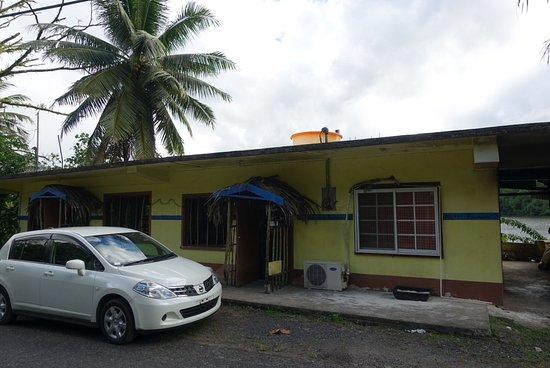 Kolonia, Gefedereerde Staten van Micronesië: Den japanska restaurangen Nett Ramen.