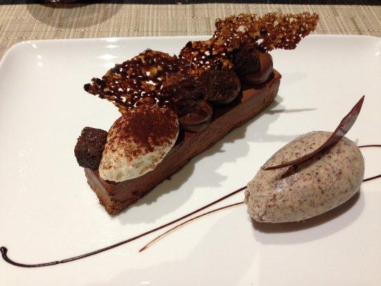 Vire-Normandie, Fransa: dessert chocolat