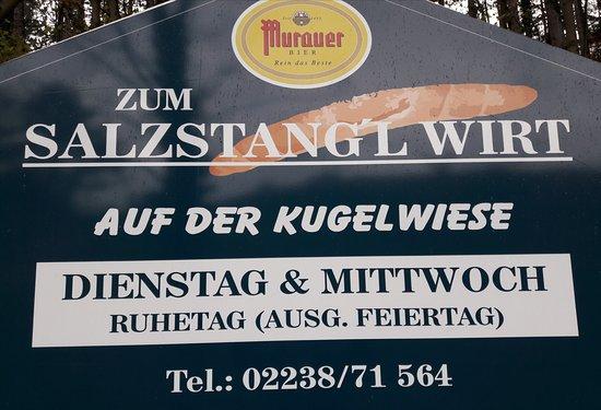 Perchtoldsdorf, Αυστρία: Zum Salzstange Wirt auf der Kugelwiese ein schöner Platz zum verweilen mit Kinderspielplatz
