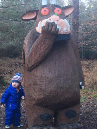 Farnham, UK: Big Gruffalo says hello