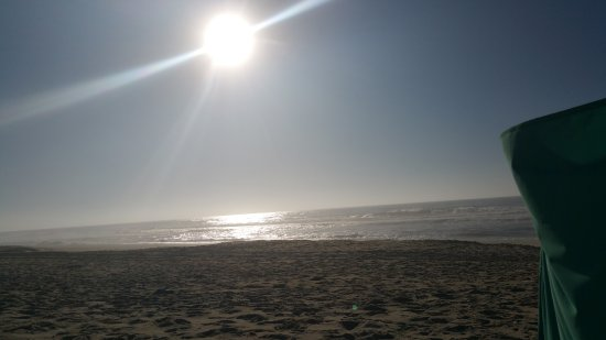 Abendsonne über Praia de Pedrogao