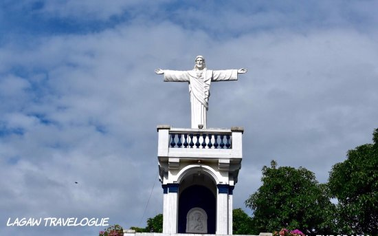 Balete, Filipinas: The sacred heart tower