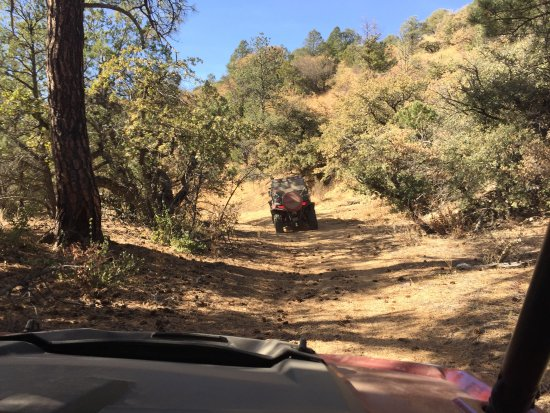 Silver City, Nuevo Mexico: One of the many easy OHV trails