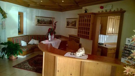Villa Ottone, Italia: Reception-entrata hotel