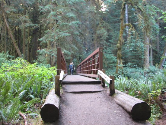 Port Angeles, Waszyngton: Cool Bridge Along the Way
