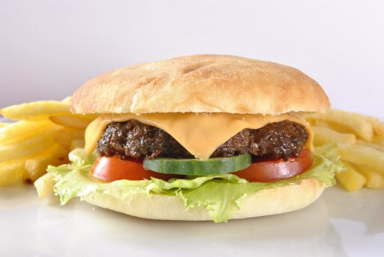 Marikina, Filipiny: Classic Gourmet Cheeseburger