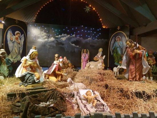 Attleboro, MA: Life size Nativity