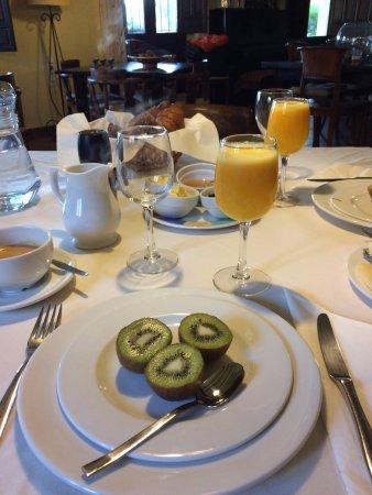 Almogía, España: ontbijt