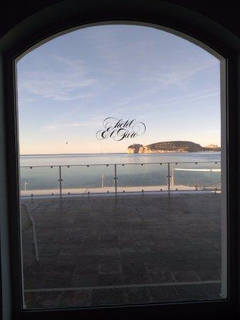 El Faro Hotel: VISTA MOZZAFIATO