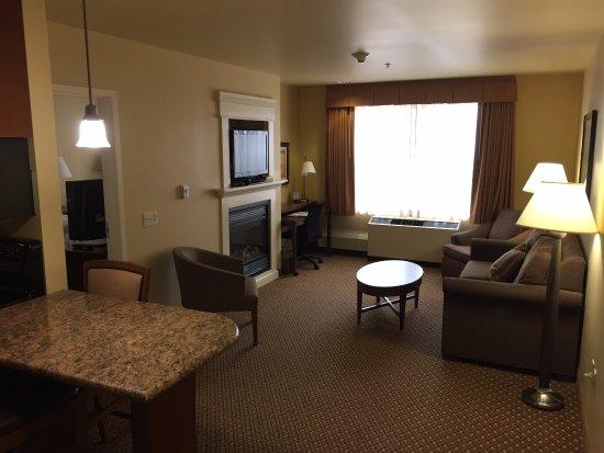 Wausau, WI: Premier Suite: living room