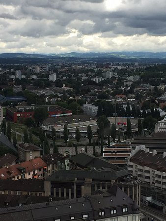 ‪‪Swissotel Zurich‬: Room view - 27th floor‬