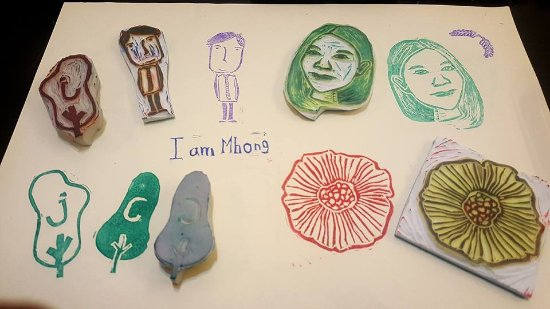 design your own stamp picture of mila craft workshop rubber stamp