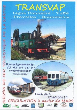 TRANSVAP - Chemin de Fer Touristique de la Sarthe