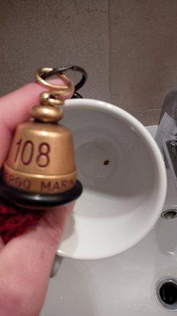 Albergo Marin: Live Bed Bug in room 108