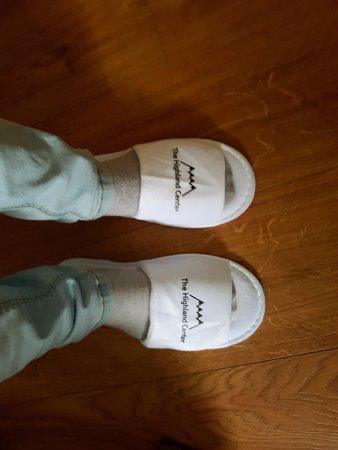 The Highland Center Hrauneyjar: shoes