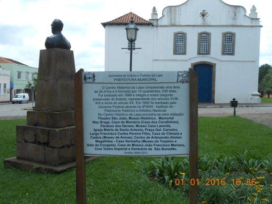 State of Parana: Centro da histórica Lapa. Não divulgada como deveria ser.