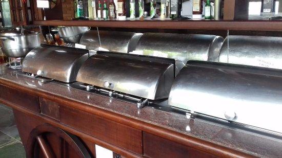 Restaurante Mirante do Cristo: pratos quentes, arroz, carnes