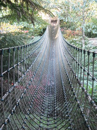 St Austell, UK: The Burma Rope Bridge