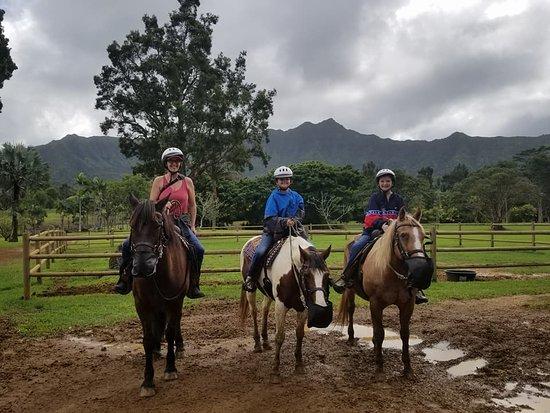 Kilauea, Hawái: Me and my girls..