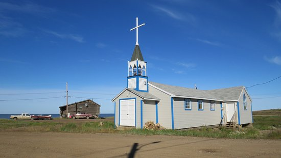 Local church in Tuktoyaktuk