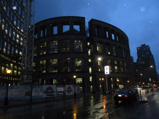 Vancouver Public Library (Central Library Branch): Library