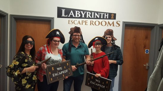 Labyrinth Escape Rooms